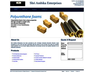 shriambika.com screenshot