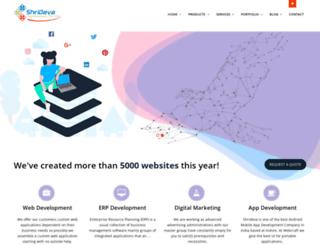 shrideva.com screenshot