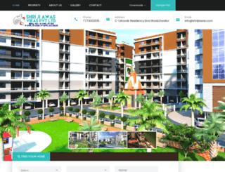 shrijiawas.com screenshot