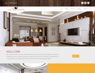 shrilakshmiinteriors.com screenshot