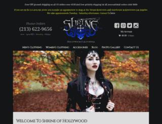 shrinestore.com screenshot