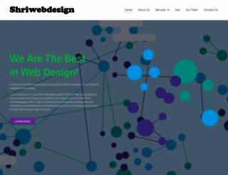 shriwebdesigner.com screenshot
