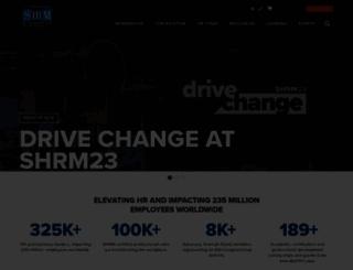 shrmindia.org screenshot