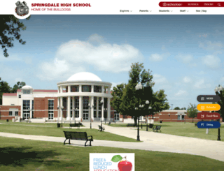 shs.sdale.org screenshot