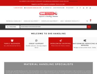shshandlingsolutions.com screenshot