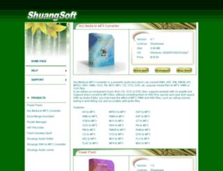 shuangsoft.com screenshot