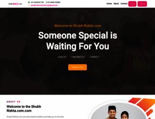 shubhrishta.com screenshot