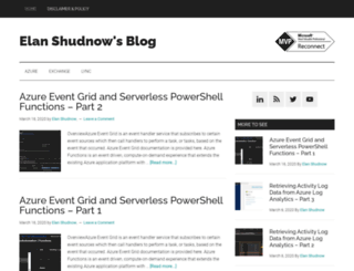 shudnow.net screenshot