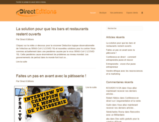 shulny.direct-editions.com screenshot
