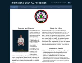 shuri-ryu.com screenshot