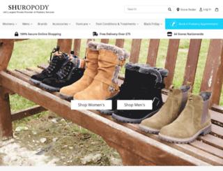 shuropody.com screenshot