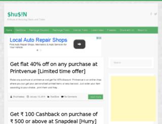 shusin.net screenshot