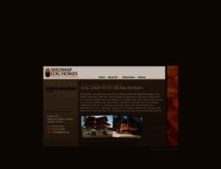 shuswaploghomes.com screenshot