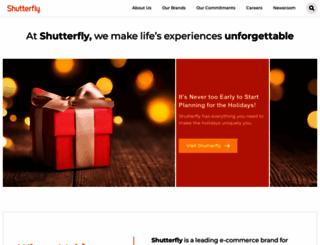 shutterflyinc.com screenshot