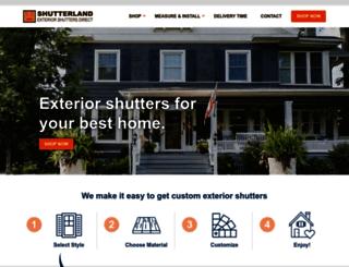 shutterland.com screenshot