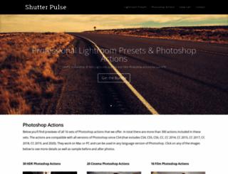 shutterpulse.com screenshot