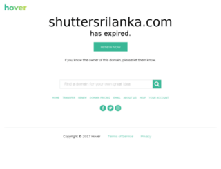 shuttersrilanka.com screenshot