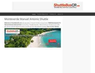shuttlebuscr.com screenshot