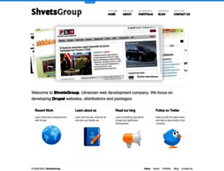 shvetsgroup.com screenshot