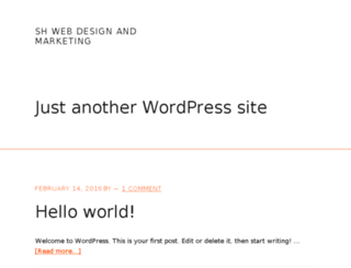 shwebdesignandmarketing.com screenshot