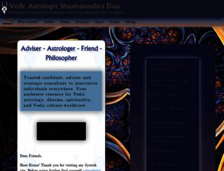 shyamasundaradasa.com screenshot
