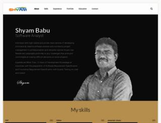 shyambabu.com screenshot