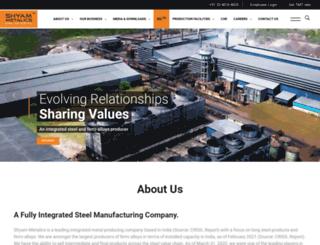 shyamgroup.com screenshot