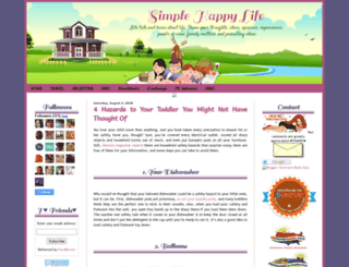 shydub-simplehappylife.blogspot.ca screenshot
