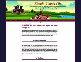 shydub-simplehappylife.blogspot.com screenshot