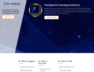 si-ware.com screenshot