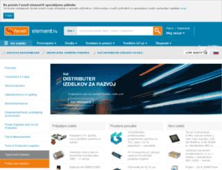 si.farnell.com screenshot
