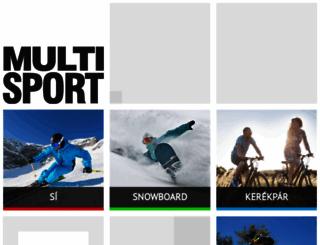 si.multi-sport.hu screenshot