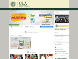 siad2.uea.edu.ec screenshot