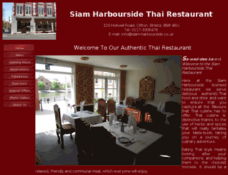 siam-harbourside.co.uk screenshot