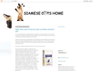 siamesecatshome.blogspot.com screenshot