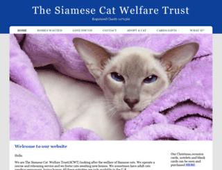 siameserescue.org.uk screenshot