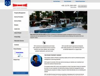 siamhomecare.com screenshot
