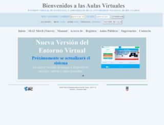 siat.unrc.edu.ar screenshot