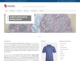 siatexbd.com screenshot