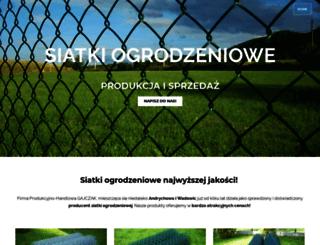 siatki-ogrodzeniowe.com screenshot