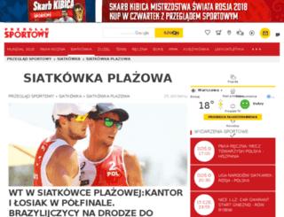 siatkowka-plazowa.przegladsportowy.pl screenshot