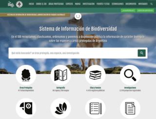 sib.gov.ar screenshot