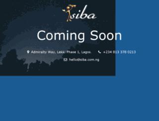 siba.com.ng screenshot