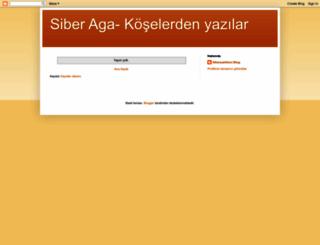 siberaga.blogspot.com.tr screenshot