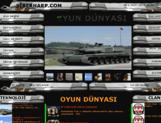 siberharp.com screenshot