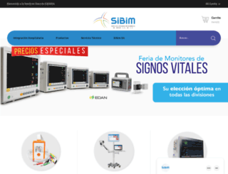 sibimsa.com.mx screenshot