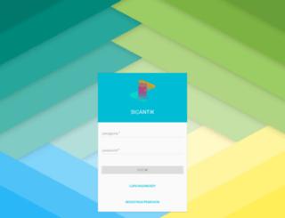 sicantikui.layanan.go.id screenshot