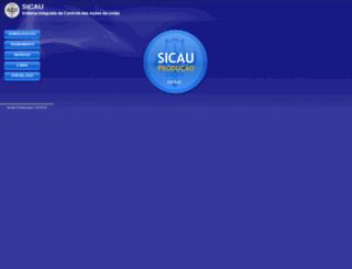 sicau.agu.gov.br screenshot
