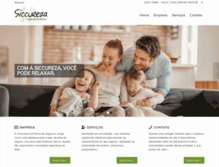 siccurezaseguros.com.br screenshot