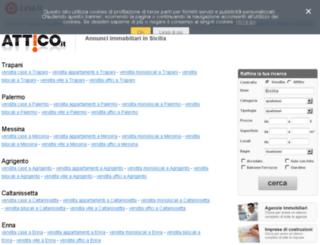 sicilia.attico.it screenshot